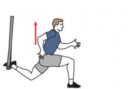 TRX suspended split squat